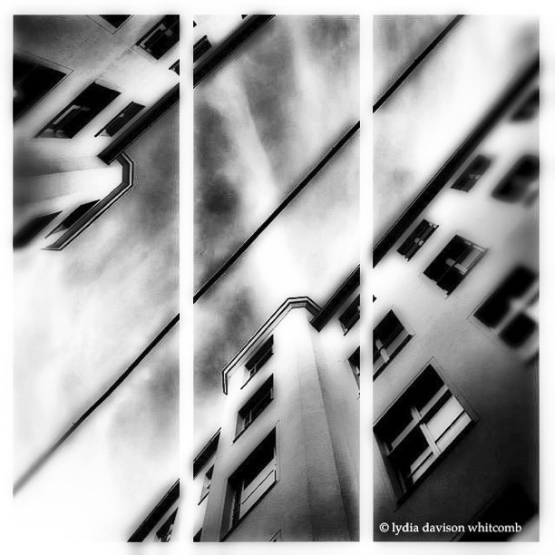 Then i looked up at the sky, and began to pray…. #california #dreaming #architecture #nyc #noir #paintedbylight