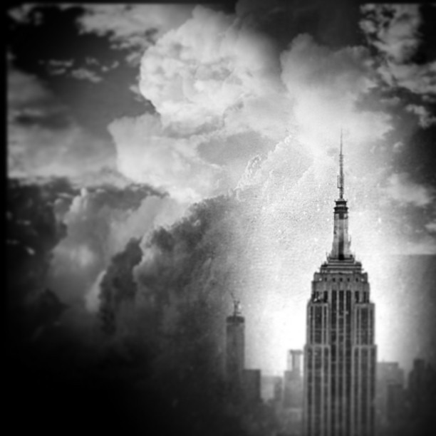 Climate change. Humidity. #nyc #noir #paintedbylight