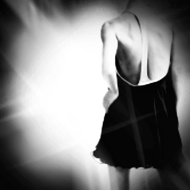 Backless. #noir #painted #paintedbylight #light