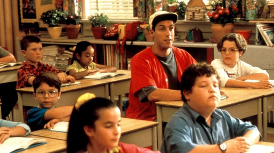 """Ocurre en las películas. Adam Sandler. """"Billy Madison"""" 1995..."""
