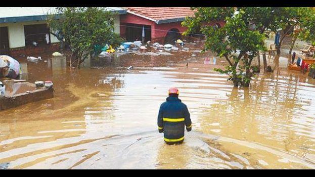 inundación desastre natural