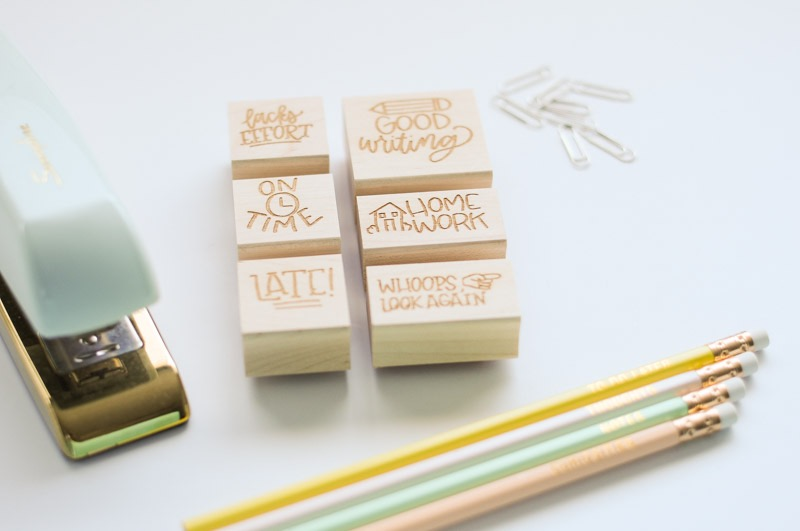 custom teacher stamps