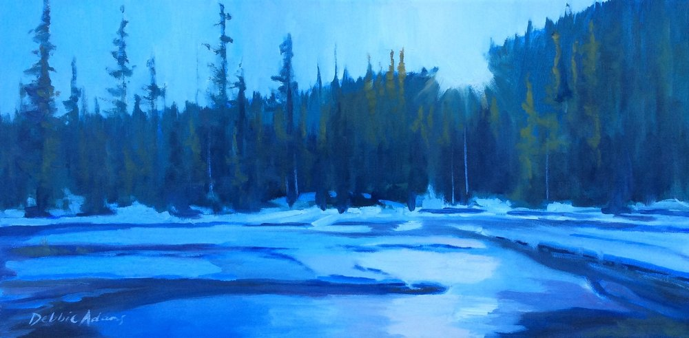 Across the Glenmore 12x24 Oil