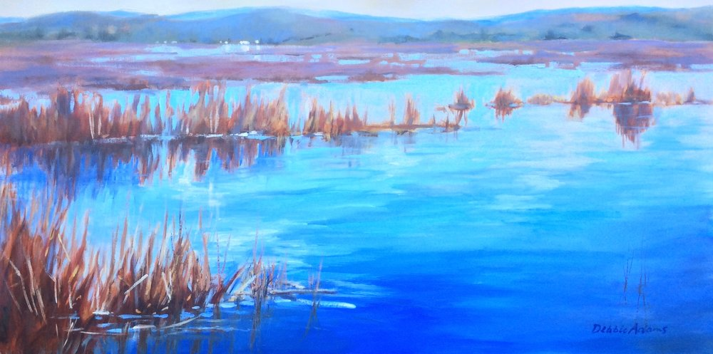 Last of the Reeds 24x36 Oil