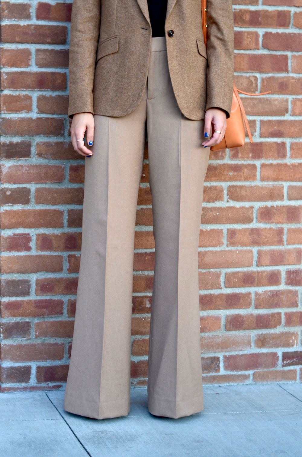 Just Goh With It-Outfit-shopstyle-dressforsuccess-zara-camel-wide-leg-pants-massimo-dutti-blazer-mansur-gavriel-mini-bucket-bag-2.jpg