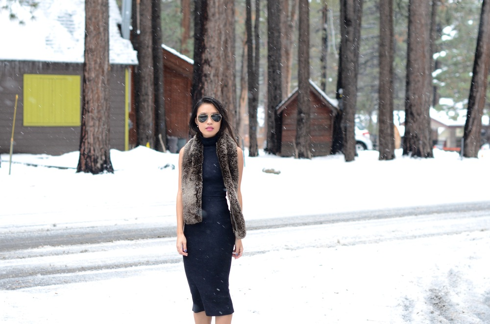 Just Goh With It-Travel-California-Lake-Tahoe-Zara-Turtleneck-Knit-Dress-Fur-Scarf-Massimo-Dutti-Ankle-Boots-1.jpg