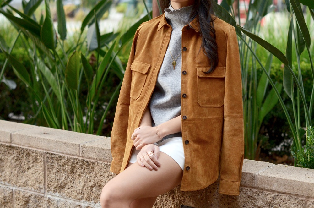 Just Goh With It-Outfits-Suede-jacket-mockneck-hat-chloe-fringe-sandals-2.jpg
