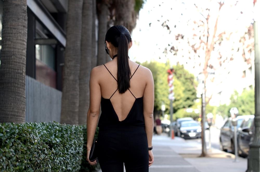 Just Goh With It-Outfit-zara-black-lace-top-gap-pants-max-mara-coat-cape-celine-1.jpg