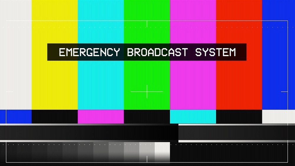 Similar to when the television program is interrupted by an emergency broadcast, God will do the same thing in our lives as well