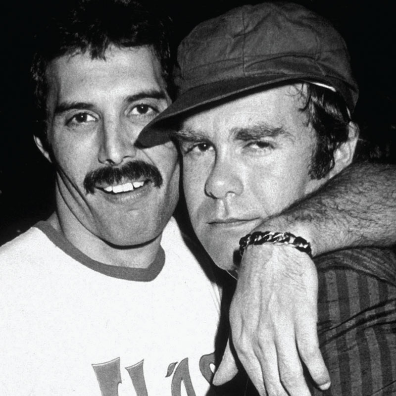 Freddie and Elton By Richard Young