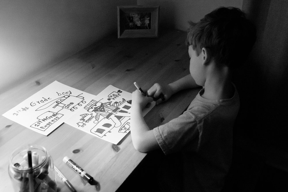 Will drawing at his desk-0332.jpg