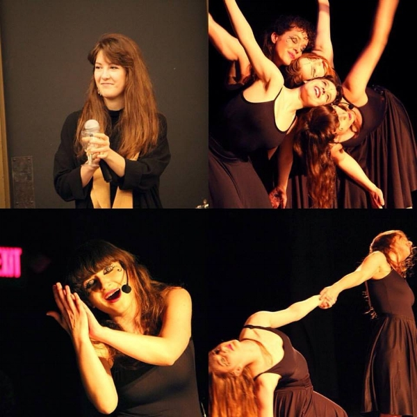"Syntheater's ""A Hunger Artist"" performance @Greene Street Studio in Cambridge MA"