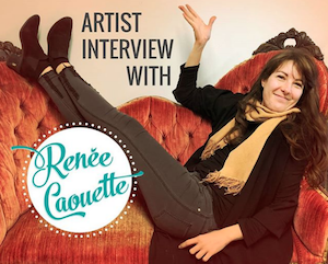 Interview with Stories to Art - Interview with Renée Caouette by Ty Owens