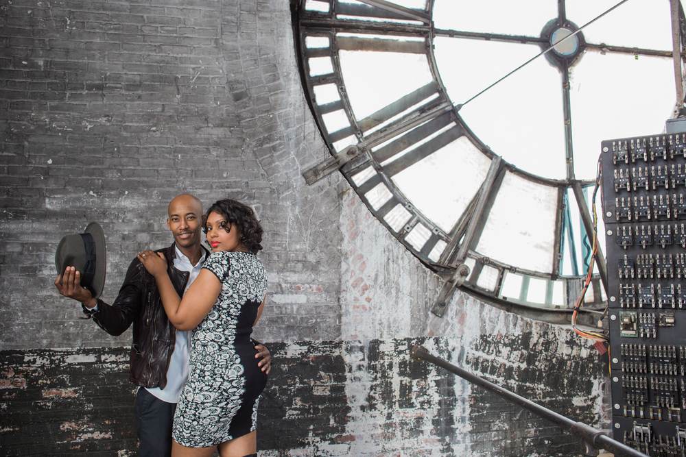 Bromo Seltzer Tower Baltimore Engagement