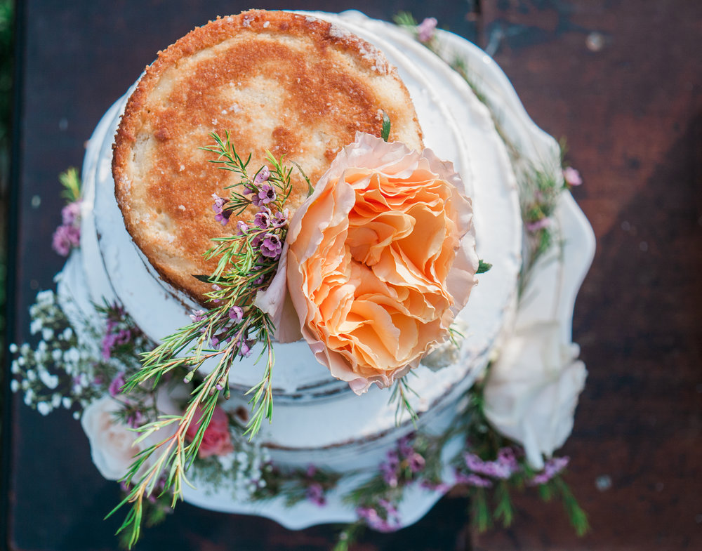 Naked Wedding Cake by Niqua's Baking Addiction
