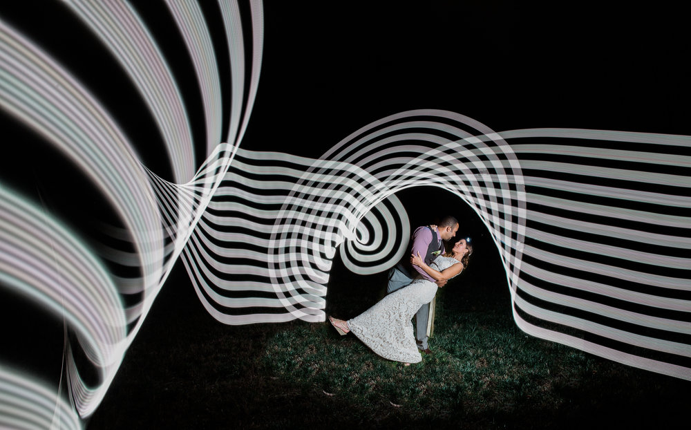 Light Painting Virginia Wedding Photographers Megapixels Media