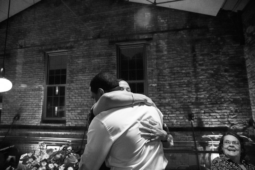 Clipper Mill Woodberry Kitchen Wedding Proposal
