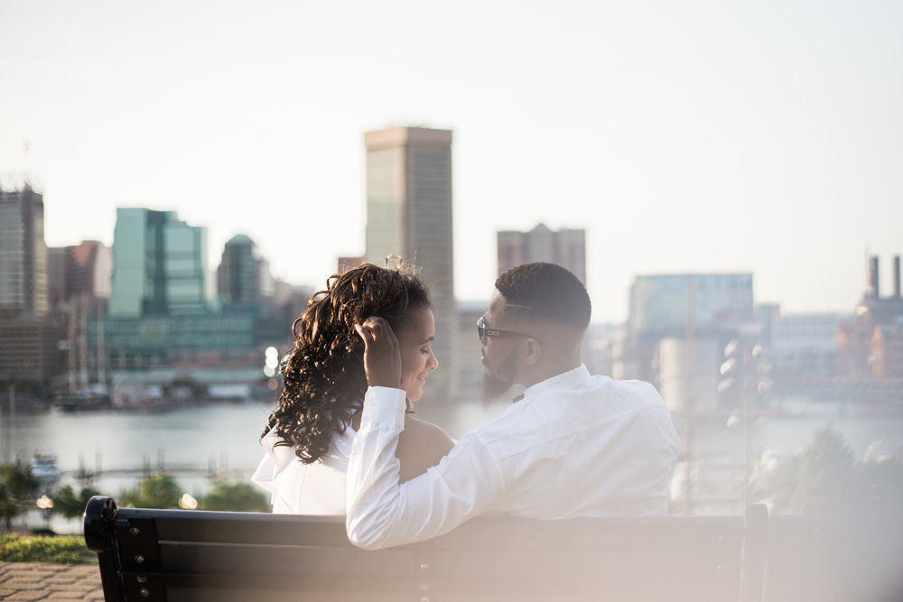 Baltimore Engagement Session in Federal Hill