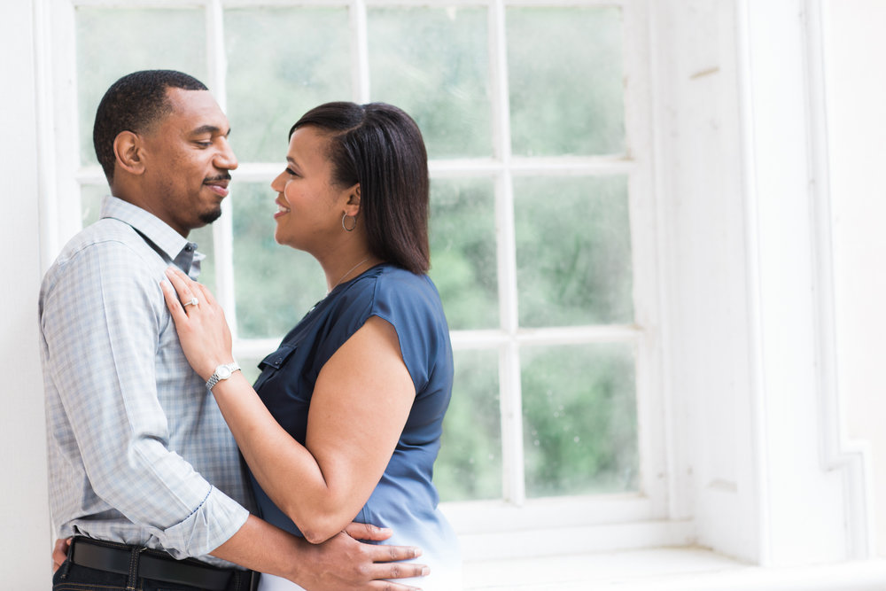 Baltimore Engagement Session  at Hampton Mansion in Towson