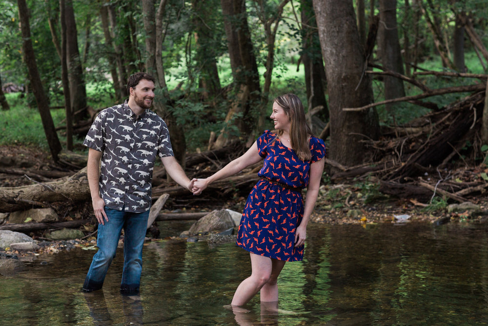 Creative Jurassic Park Engagement Session in Maryland-3.jpg