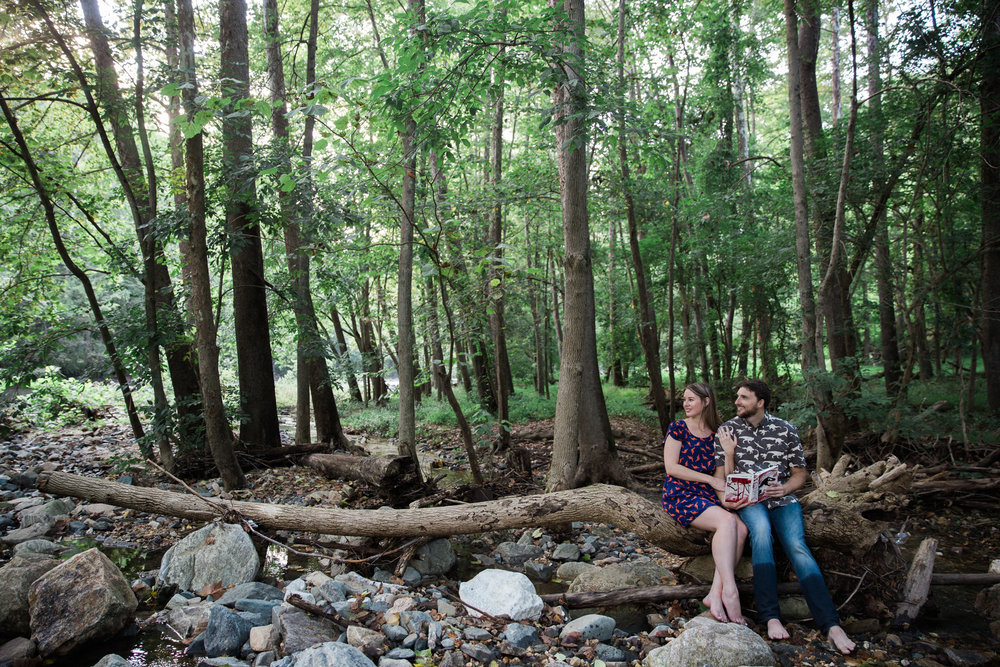 Creative Jurassic Park Engagement Session in Maryland-6.jpg