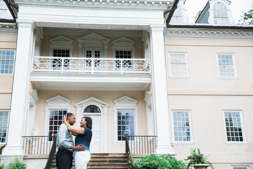 Baltimore Engagement Photo Hampton Mansion.jpg