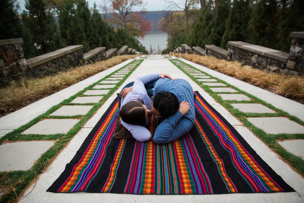 New York Wedding Photographers Engagement Session at Untermeyer Garden-14.jpg