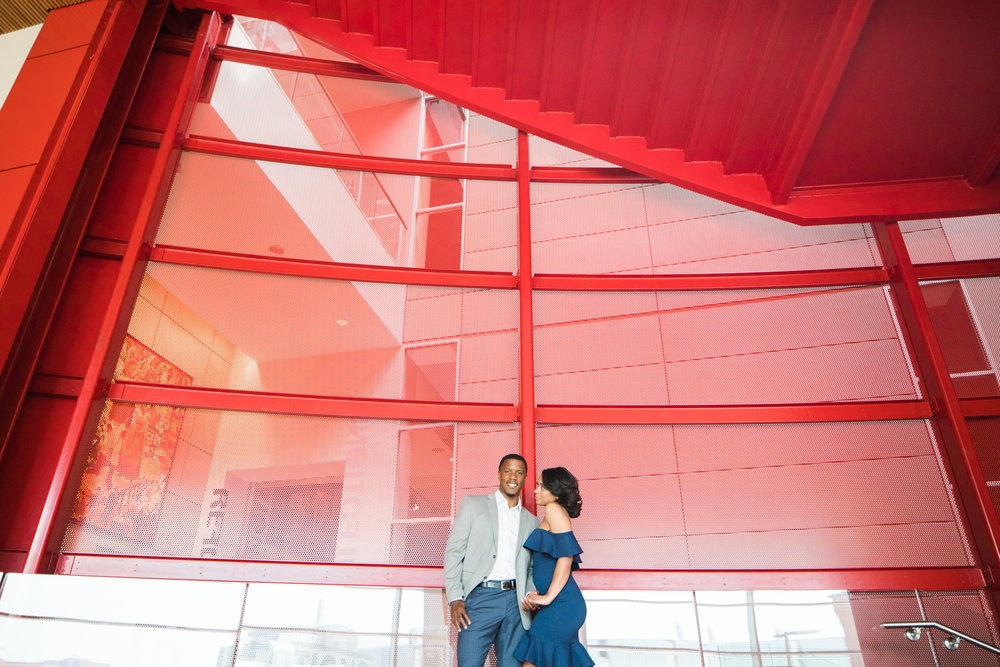 Reginald Lewis African American Museum Engagement Session Megapixels Media Photography-5.jpg