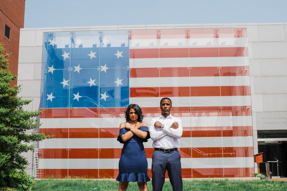 Reginald Lewis African American Museum Engagement Session Megapixels Media Photography-22.jpg