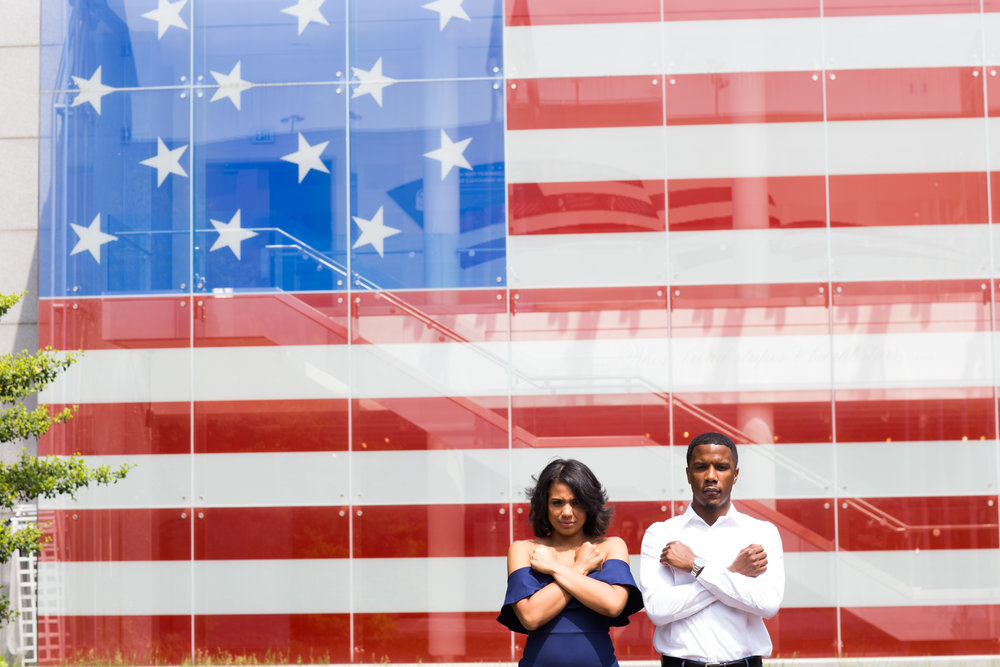 Reginald Lewis African American Museum Engagement Session Megapixels Media Photography-23.jpg