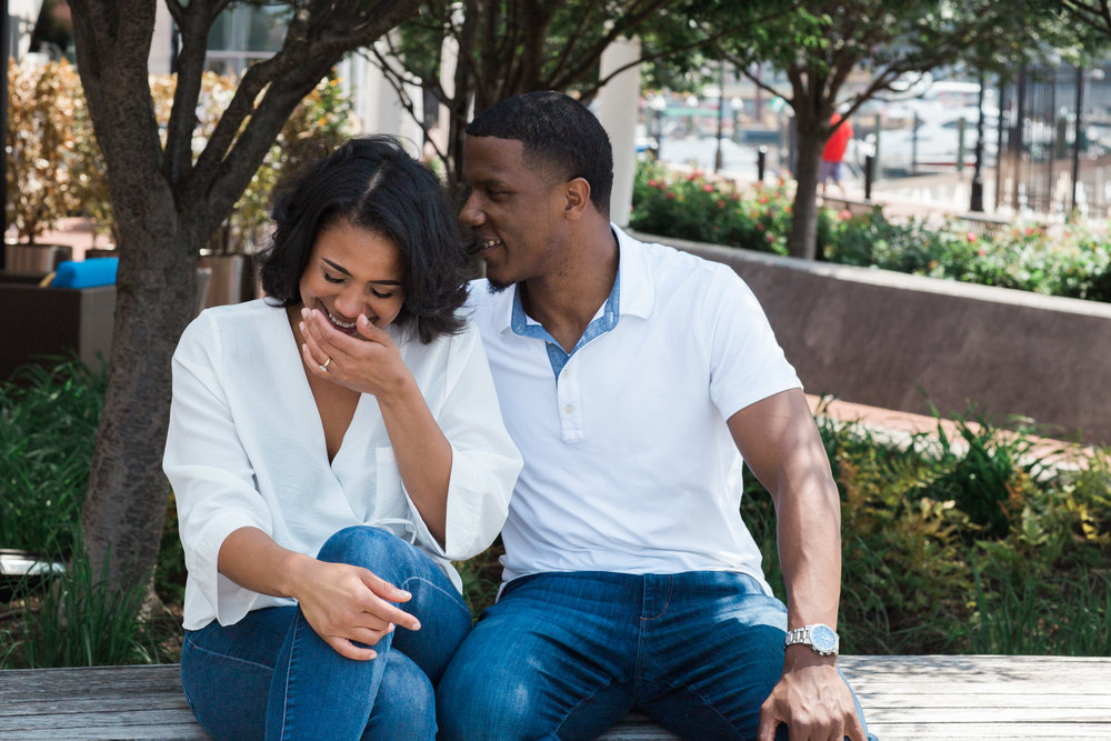 Reginald Lewis African American Museum Engagement Session Megapixels Media Photography-26.jpg
