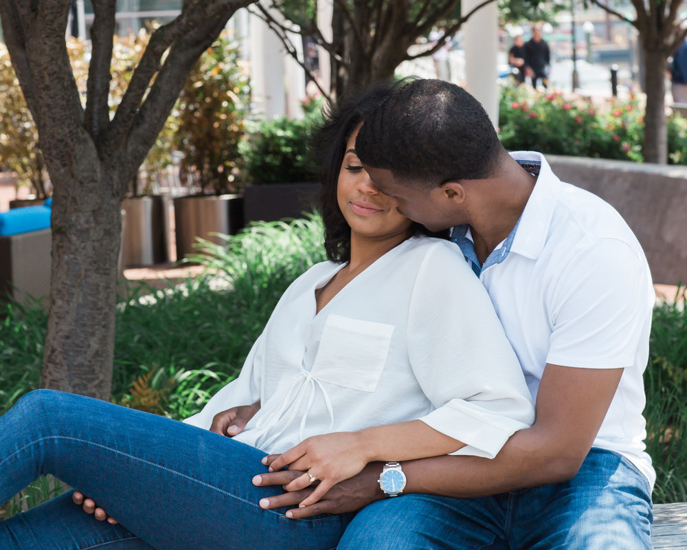 Reginald Lewis African American Museum Engagement Session Megapixels Media Photography-27.jpg