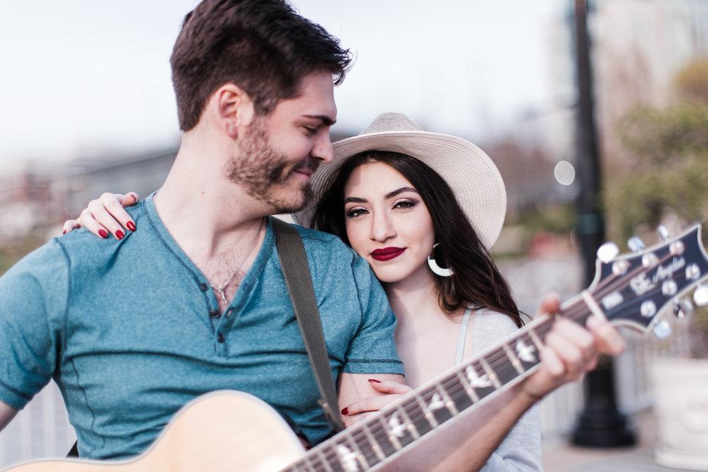 Natuonal Harbor Engagement with Guitar DC Photographers Megapixels Media-33.jpg