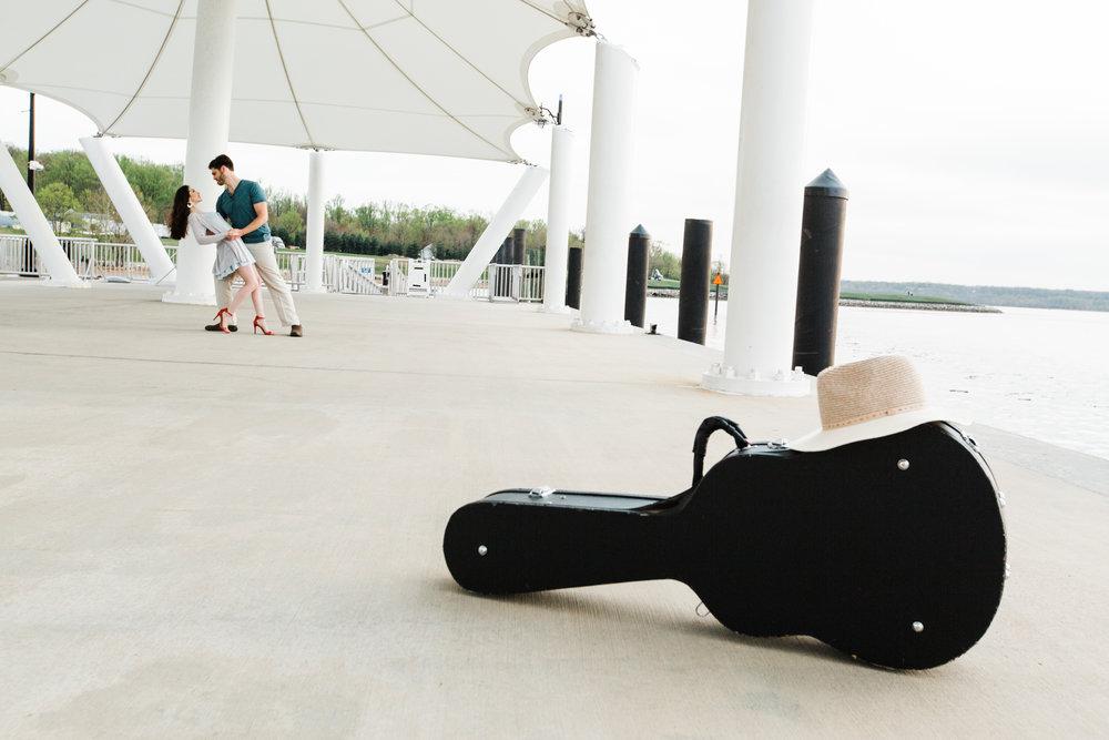 Natuonal Harbor Engagement with Guitar DC Photographers Megapixels Media-41.jpg