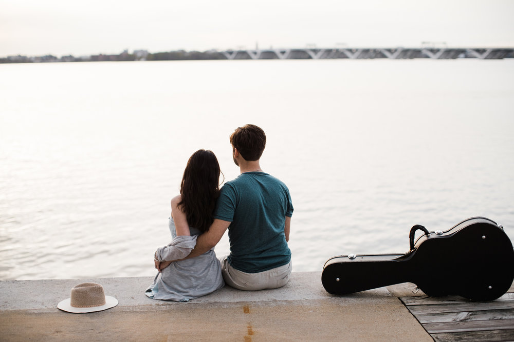 Natuonal Harbor Engagement with Guitar DC Photographers Megapixels Media-56.jpg