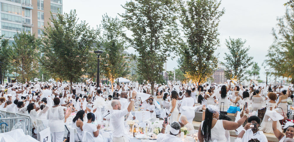 Official Event Photographers for Diner En Blanc Baltimore Megapixels Media Photography