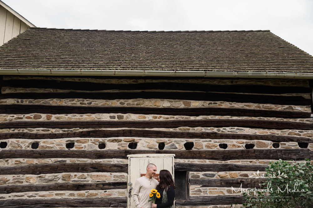 Sunflower Engagement Session at Cromwell Valley Park Baltimore Wedding Photographers Megapixels Media (2 of 31).jpg