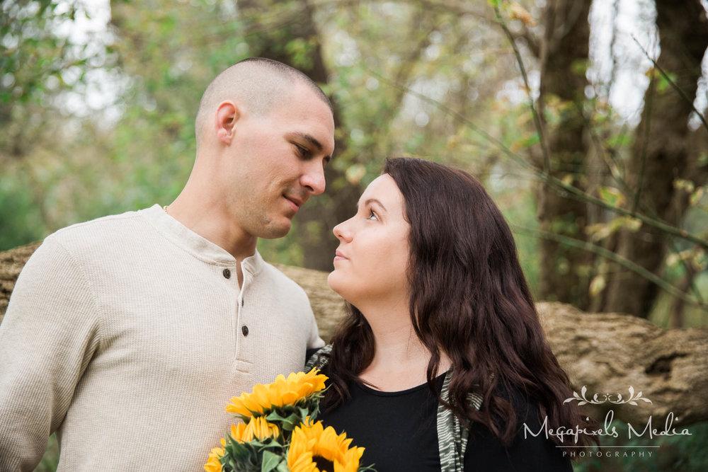 Sunflower Engagement Session at Cromwell Valley Park Baltimore Wedding Photographers Megapixels Media (6 of 31).jpg