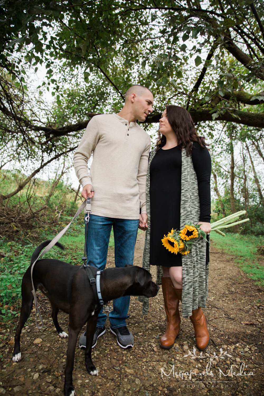 Sunflower Engagement Session at Cromwell Valley Park Baltimore Wedding Photographers Megapixels Media (5 of 31).jpg