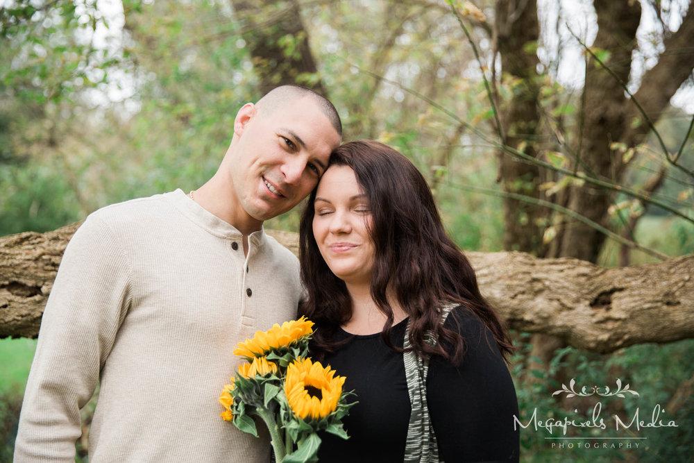 Sunflower Engagement Session at Cromwell Valley Park Baltimore Wedding Photographers Megapixels Media (7 of 31).jpg