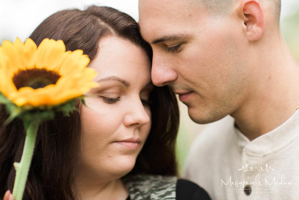 Sunflower Engagement Session at Cromwell Valley Park Baltimore Wedding Photographers Megapixels Media (10 of 31).jpg