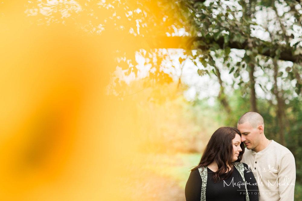 Sunflower Engagement Session at Cromwell Valley Park Baltimore Wedding Photographers Megapixels Media (13 of 31).jpg