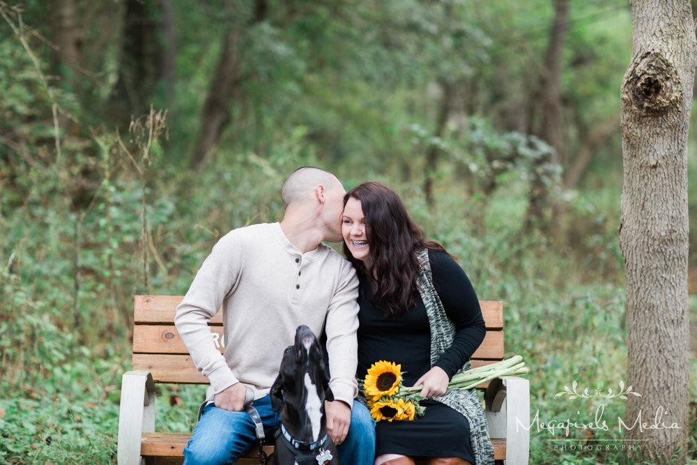 Sunflower Engagement Session at Cromwell Valley Park Baltimore Wedding Photographers Megapixels Media (18 of 31).jpg
