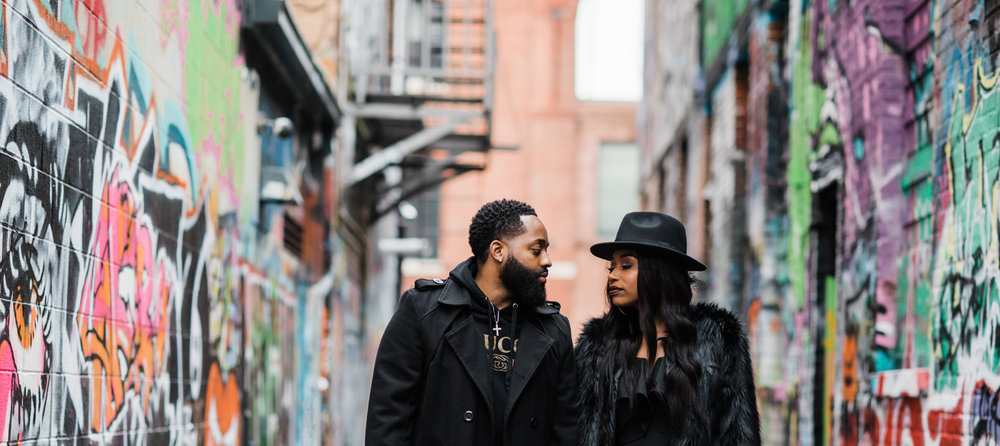 Creative Baltimore Graffiti Alley Engagement Session Megapixels Media Photography-3.jpg