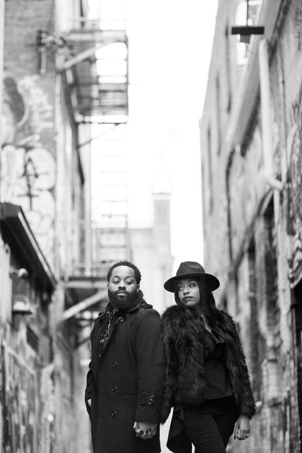 Creative Baltimore Graffiti Alley Engagement Session Megapixels Media Photography-5.jpg