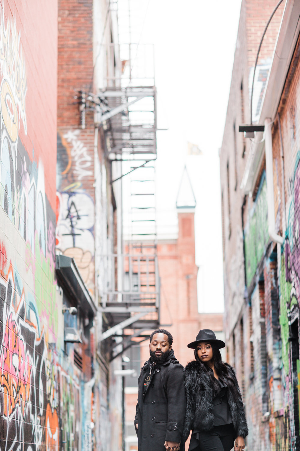 Creative Baltimore Graffiti Alley Engagement Session Megapixels Media Photography-7.jpg