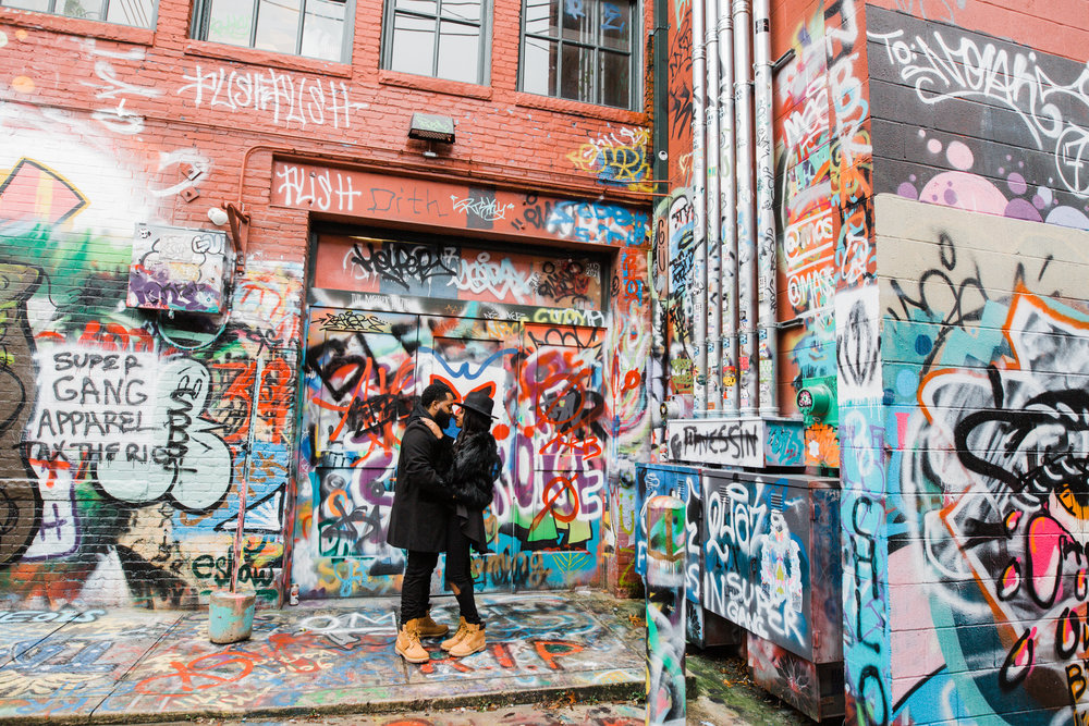 Creative Baltimore Graffiti Alley Engagement Session Megapixels Media Photography-8.jpg