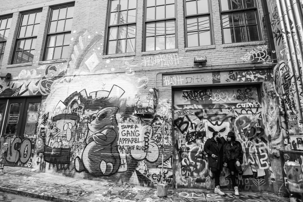 Creative Baltimore Graffiti Alley Engagement Session Megapixels Media Photography-18.jpg