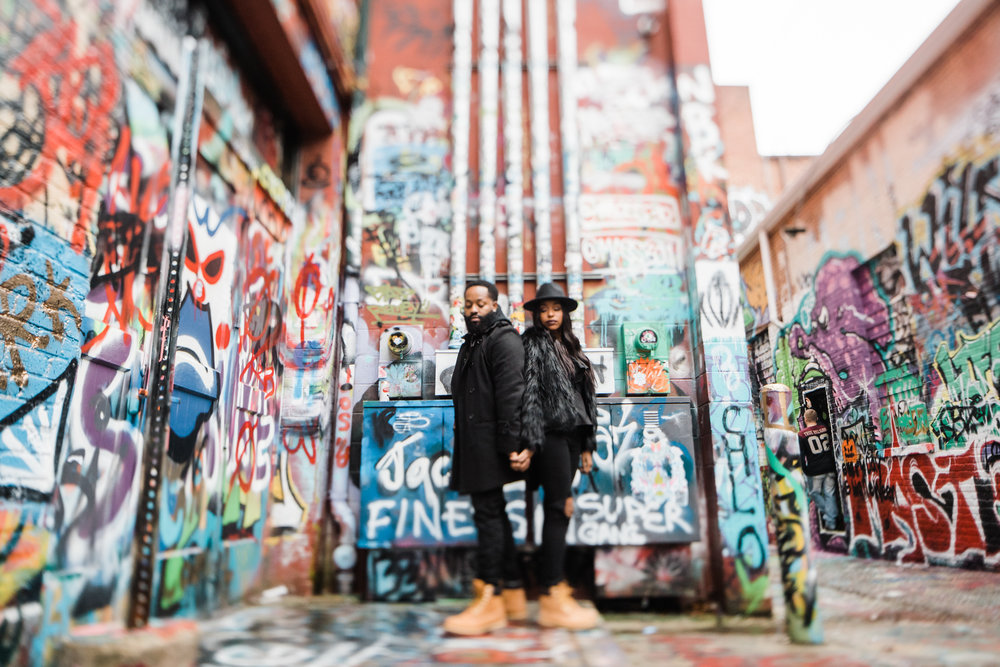 Creative Baltimore Graffiti Alley Engagement Session Megapixels Media Photography-19.jpg