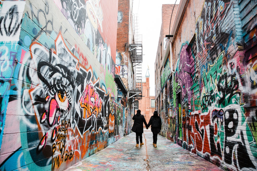 Creative Baltimore Graffiti Alley Engagement Session Megapixels Media Photography-53.jpg